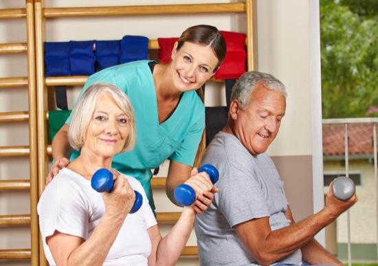 riabilitazione anziano